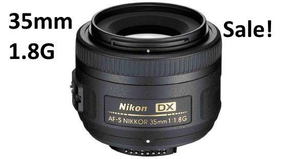 Nikon 35mm 1.8g sale deal 2016