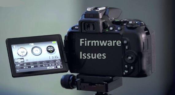 Nikon D5500 fireware problems