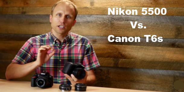 Nikon D5500 vs Canon T6s Review