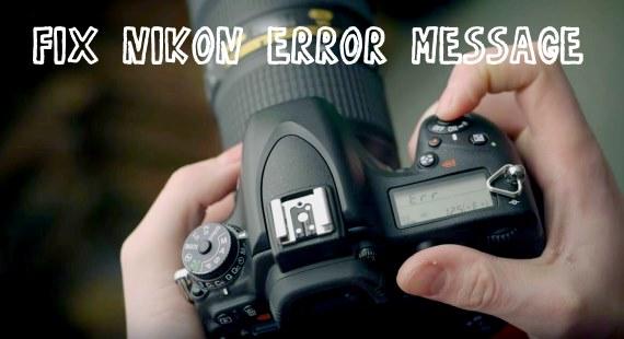 Nikon D7100 Error Codes and how to fix