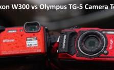 Nikon W300 vs. Olympus TG-5 test review video