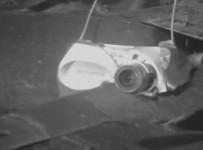 Olympus Camera Getting Chopped Up By Lawnmower