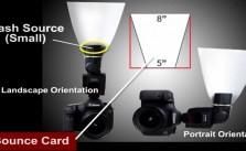 On Camera Flash Modifiers