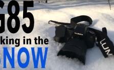 Panasonic G85 cold weather test
