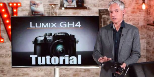 Panasonic GH4 Free In Depth Training Video