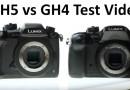Panasonic GH5 vs. Panasonic GH4 test rolling shutter