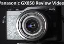 Panasonic GX850 Review Video