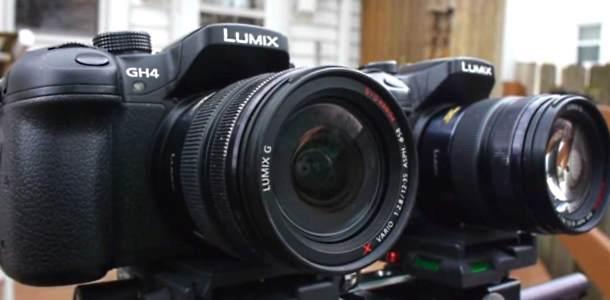 Panasonic Lumix GH4 vs. GH3