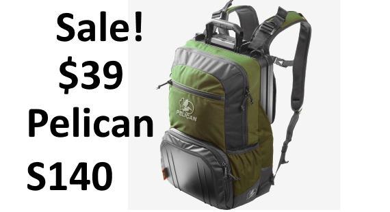 Pelican S140 Sport Elite Tablet Backpack sale discount