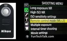 Remote Control Problem ML-L3 Shuts Off Fix