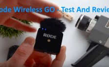 Rode Wireless Go Review Test