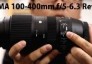Sigma 100-400mm F5-6.3 DG OS HSM Test review Video