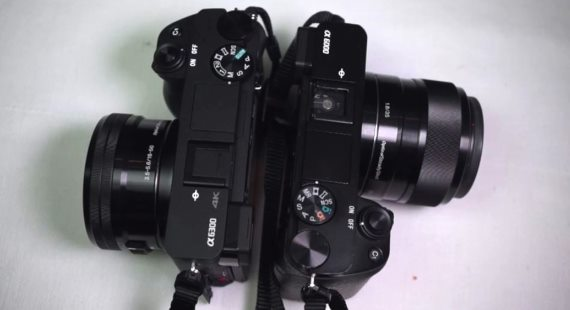 Sony A6300 vs A6000 review video
