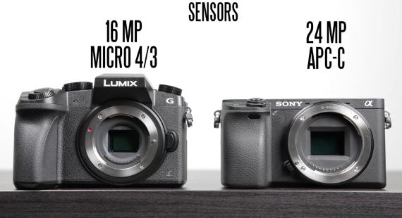 Sony A6300 vs Panasonic G7 best 4K camera
