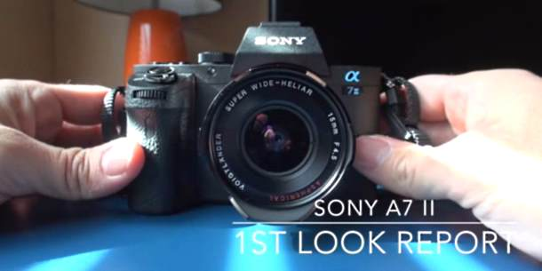 Sony A7 II review video