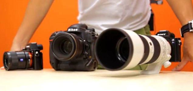 Sony A7S low light test video