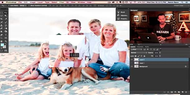 Swap heads Photoshot tutorial