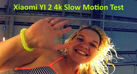 Xiaomi YI 2 4k Slow Motion 240fps