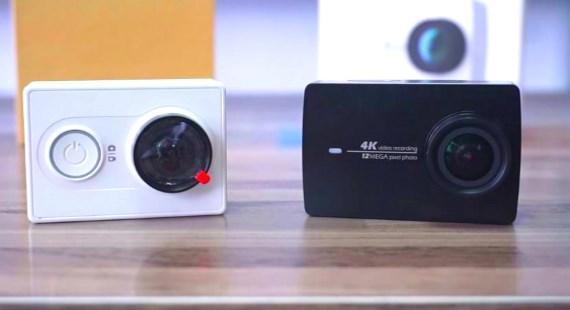 Xiaomi YI 2 vs Xiaomi YI 1 test video
